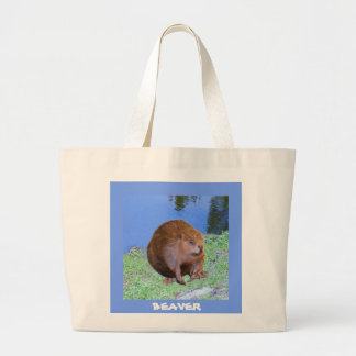 Beaver (Oregon New York) 2 Z .jpg Large Tote Bag