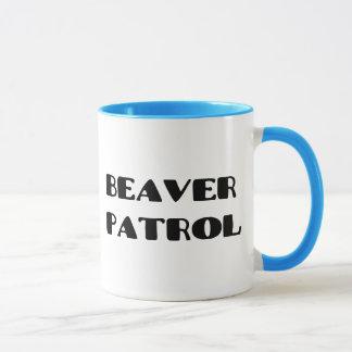 Beaver Patrol Mug