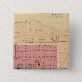 Beaver, Pennsylvania 15 Cm Square Badge