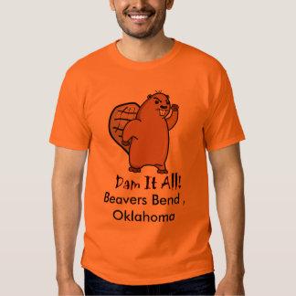 Beaver-Small, Beavers Bend , Oklahoma Tshirt