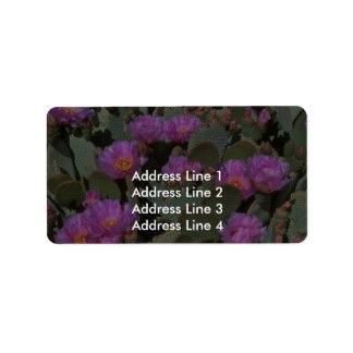 Beaver Tail Cacti Address Label