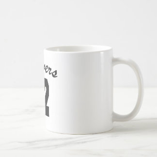 Beavers #42 basic white mug