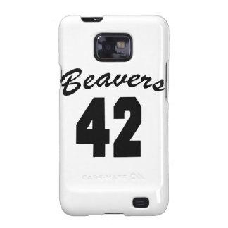 Beavers #42 galaxy s2 case
