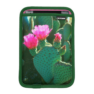 Beavertail Cactus Flowers iPad Mini Sleeve