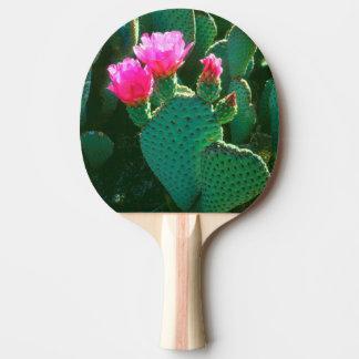 Beavertail Cactus Flowers Ping Pong Paddle