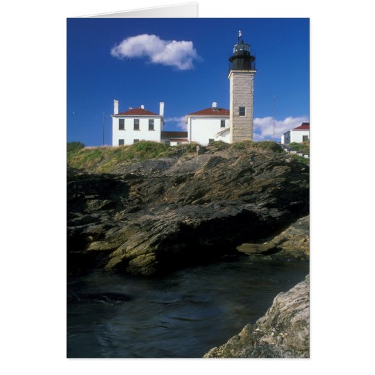 Beavertail Lighthouse Card