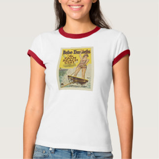 Bebe Daniels 1926 silent movie color poster T Shirts