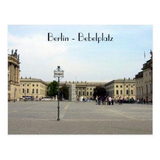 Bebelplatz Postcard