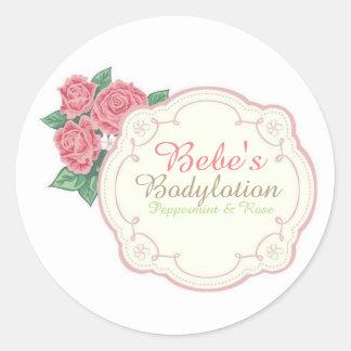Bebe's Round Sticker