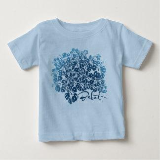 Bebot - Hibiscus - Blue T-shirt
