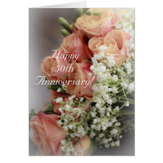 Because.... 50th Anniversary Greeting Card