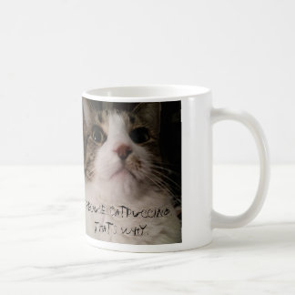 Because Catpuccino. That's Why. Basic White Mug