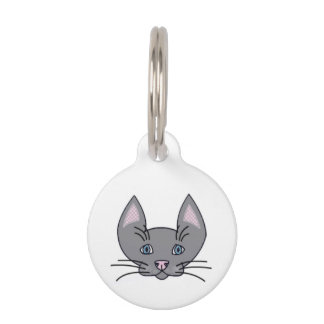Because cats. Small Pet Tag