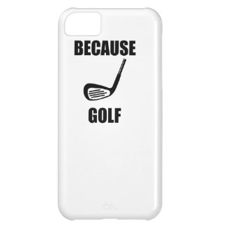 Because Golf Cover For iPhone 5C
