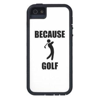Because Golf iPhone 5 Case