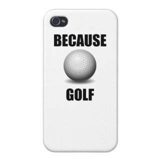 Because Golf Covers For iPhone 4