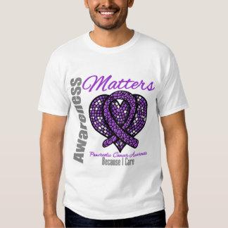 Because I Care - Pancreatic Cancer Tshirt