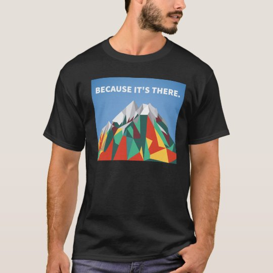 Because Its There T-Shirt