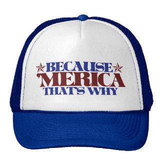 Because MERICA that's why Cap