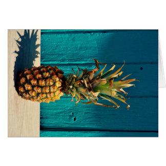 Because Pineapple Greeting Card