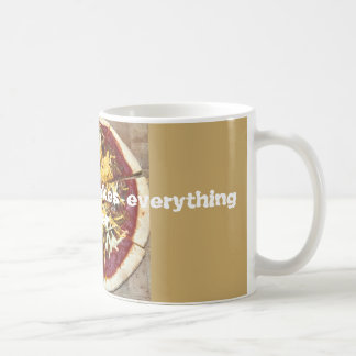 Because pizza... coffee mug
