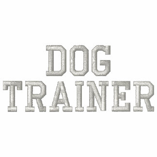 Because Sit Happens Lite Gray Thread Dog Trainer Track Jacket