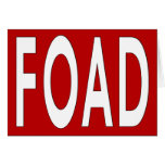 Because You Care: FOAD Card