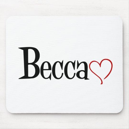 Becca Mousepad