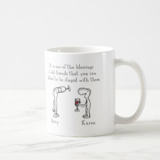 Beccy and Karen Coffee Mug