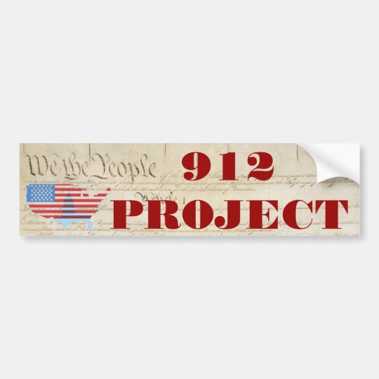 Beck 912 Project Bumper Sticker