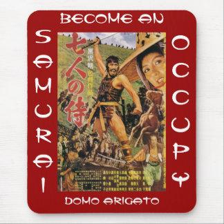 BECOME AN OCCUPY SAMURAI DOMO ARIGATO MOUSE PAD