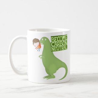 become carbon neutral basic white mug