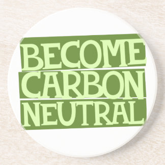 become carbon neutral drink coasters