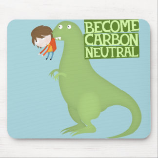 become carbon neutral mouse pad