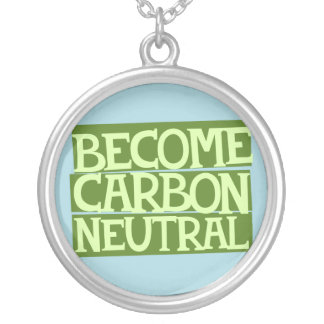 become carbon neutral personalized necklace