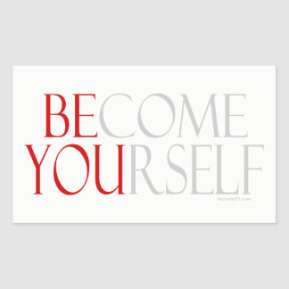 Become Yourself Stickers