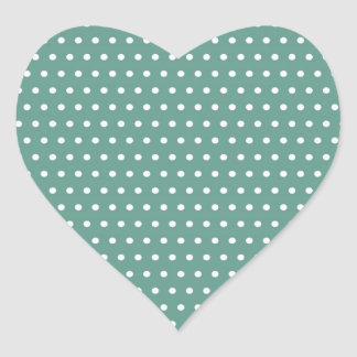 becomes green baby scores polka dots green scored  heart sticker