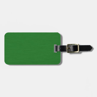 Becomes green Holzmaserung Bag Tag