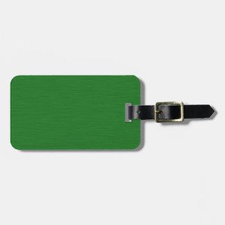 Becomes green Holzmaserung Luggage Tag