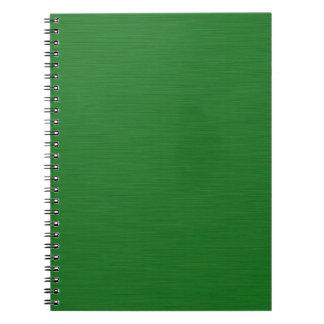 Becomes green Holzmaserung Notebook