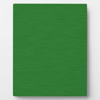 Becomes green Holzmaserung Plaque