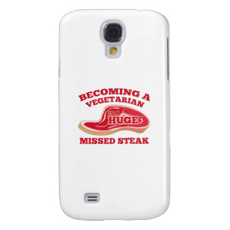 Becoming A Vegetarian Is A Huge Missed Steak Samsung Galaxy S4 Cases