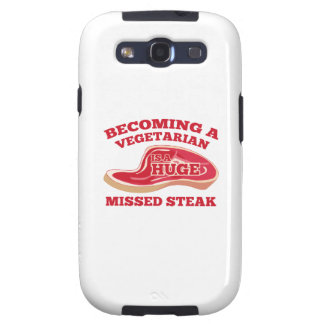 Becoming A Vegetarian Is A Huge Missed Steak Galaxy SIII Covers
