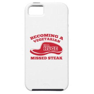 Becoming A Vegetarian Is A Huge Missed Steak iPhone 5 Case