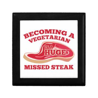 Becoming A Vegetarian Is A Huge Missed Steak Keepsake Box