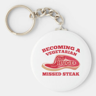 Becoming A Vegetarian Is A Huge Missed Steak Keychains
