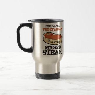 Becoming A Vegetarian Is A Huge Missed Steak Mug