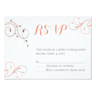Becoming Mr. & Mrs. RSVP Card