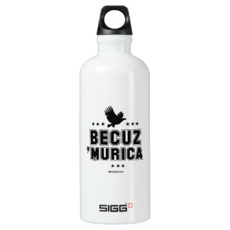 Becuz 'Murica - eagle flight SIGG Traveller 0.6L Water Bottle
