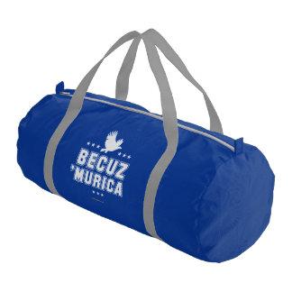 Becuz 'Murica Gym Duffel Bag